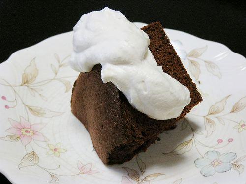豆乳チョコケーキ