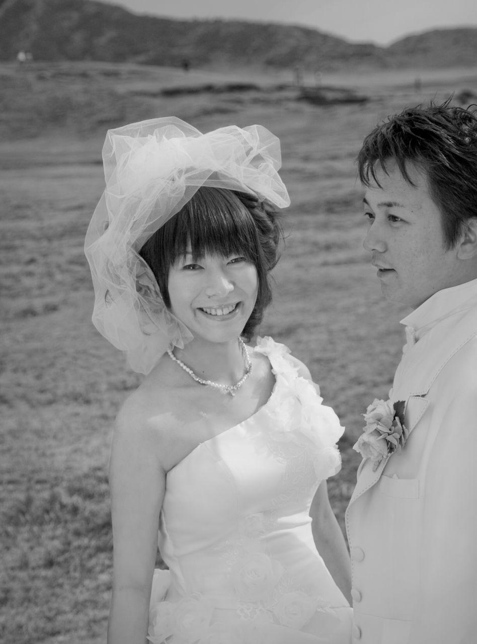 阿蘇での結婚式前撮り写真ウエディング