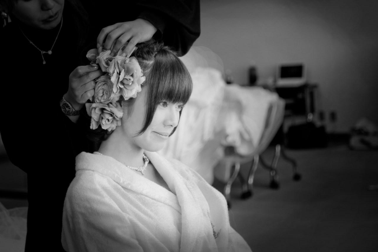 ホテル南阿蘇グリーンピアメイク花嫁写真ウエディングドレス