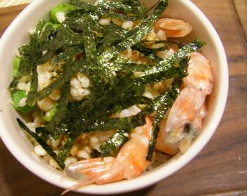 海老天丼風どん060522