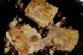 凍み豆腐の生姜焼き