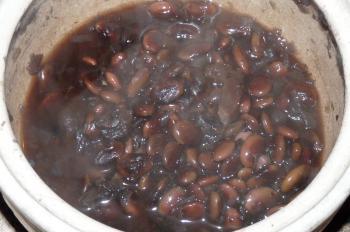 くらかけ豆の煮物