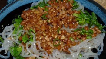 玄小麦のジャージャー麺風