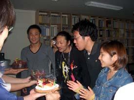 高尾さん、大本さん、渡邊さん、荒巻