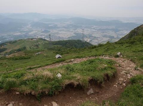 上野登山道 116