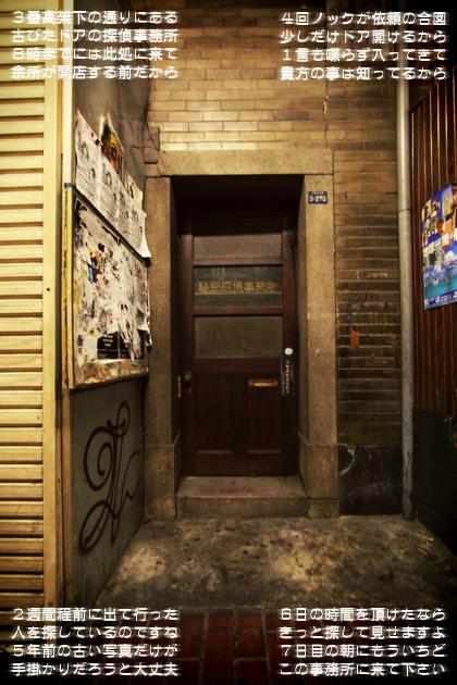 三番高架下秘密探偵事務所