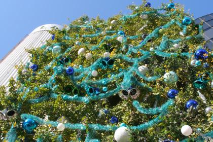 2005年12月1日ラフォーレ原宿(LAFORET HARAJUKU)のクリスマスツリー