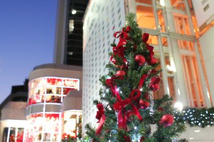 街全体がクリスマスプレゼント!
