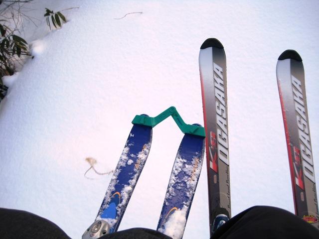 岳スキー初すべり 001