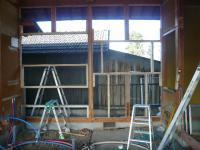 K様邸 壁、窓枠