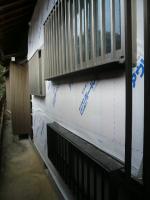 K様邸 壁、窓枠4