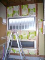 K様邸 壁、窓枠3