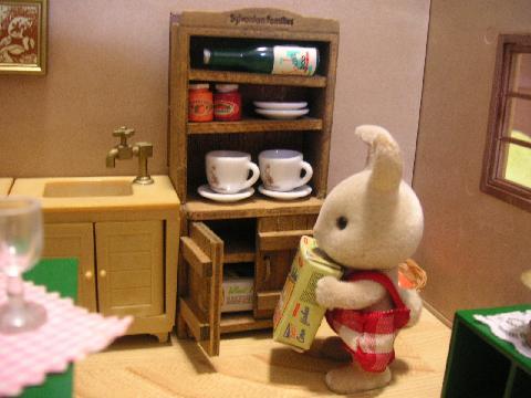 食器棚時計4