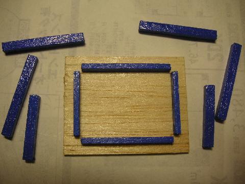 青テーブル3