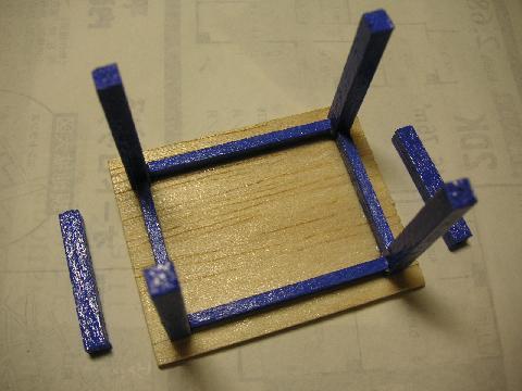 青テーブル4