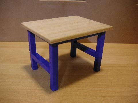 青テーブル6