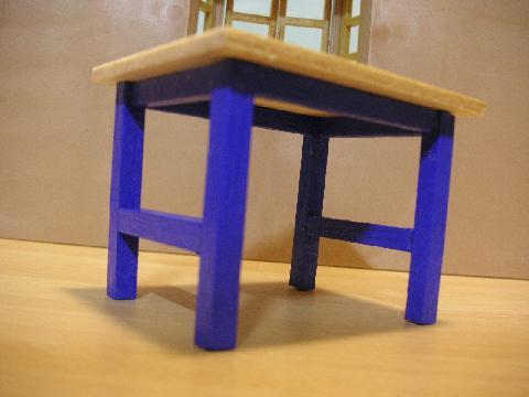 青テーブル7