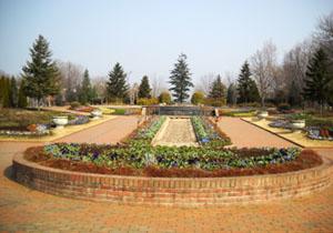 園内の花壇