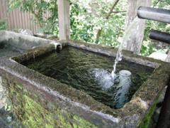 4蛇滝口の湧き水