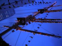 竹芝桟橋のマスト2