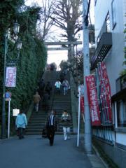 1.天神石坂(男坂)
