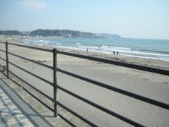 13.由比ガ浜へ