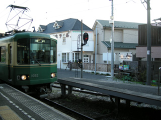 13.江ノ電にて帰宅