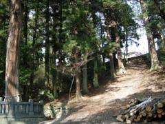 4.御柱の道