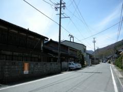 5.贄川宿