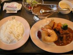 15.明治の洋食とカレーのセット