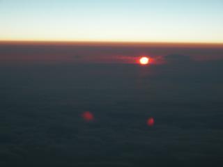18.雲の上の夕日