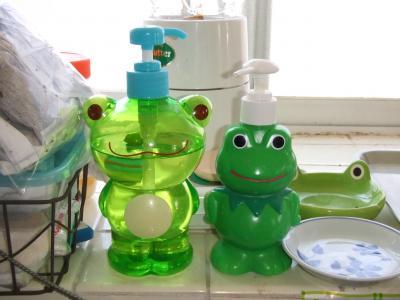 ケロポンプ食器洗い