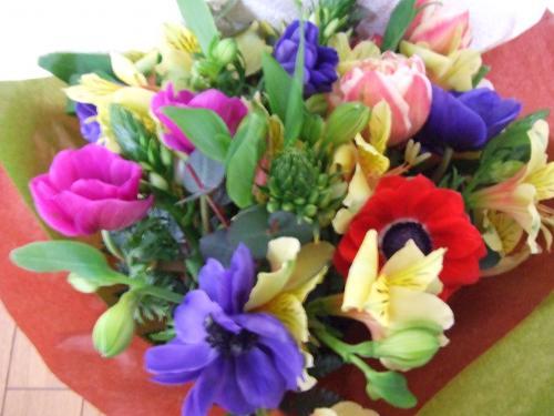母の誕生日の花束