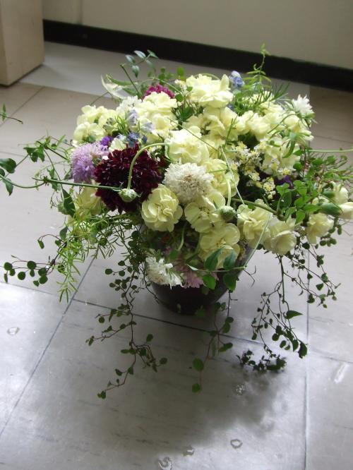 お礼にお花束を~♪
