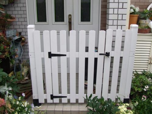 ゲートは完成~(^^)