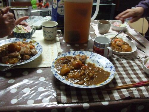 カレーの食卓