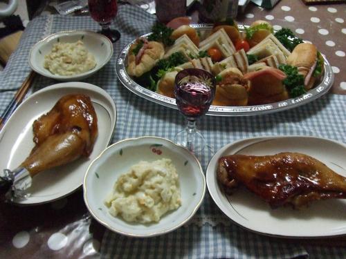 クリスマス簡単晩餐