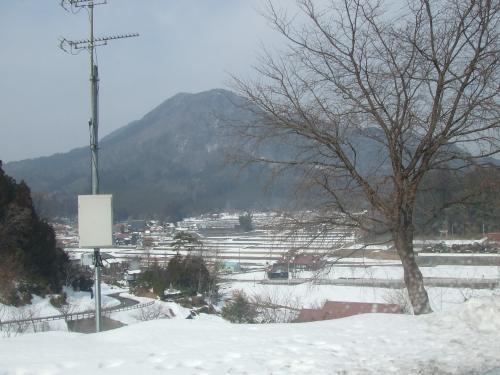 豊平の雪景色