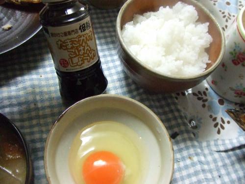 卵かけご飯^^