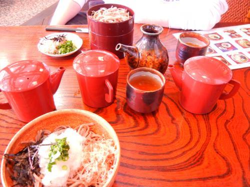松本蕎麦の昼食