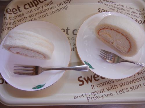 クレールの練乳ロールケーキ~んま!