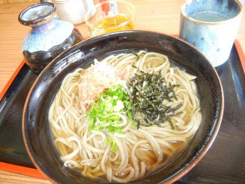 田村屋の釜揚げ蕎麦