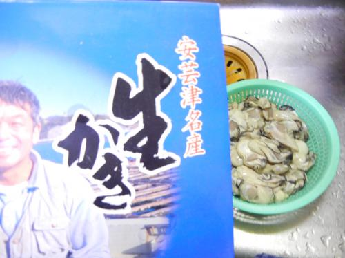 安芸津の牡蠣♪