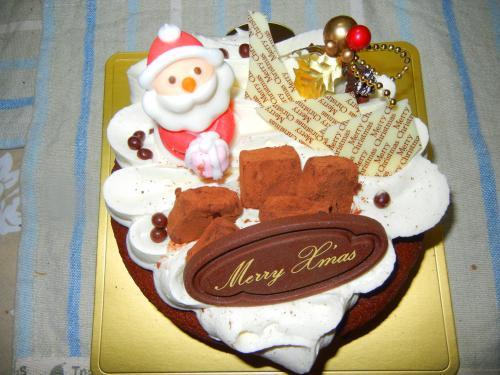 クレールの限定クリスマスケーキ とろける生ショコラ