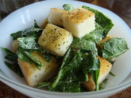 ホウレン草サラダ