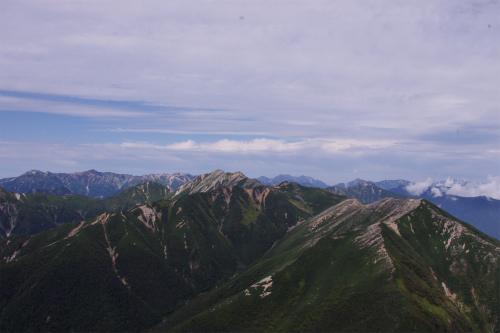 蝶ヶ岳 206