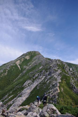 蝶ヶ岳 205