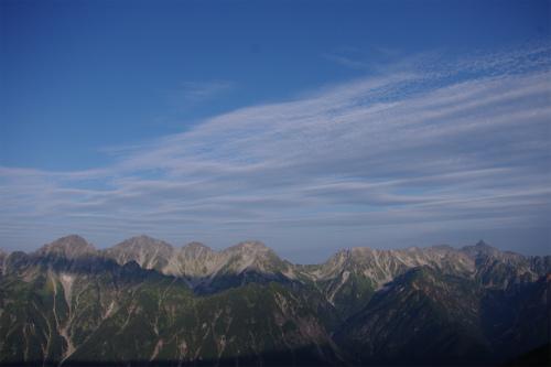 蝶ヶ岳 170