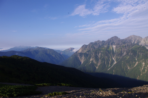 蝶ヶ岳 183