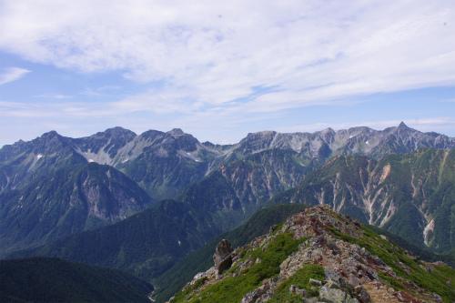 蝶ヶ岳 209
